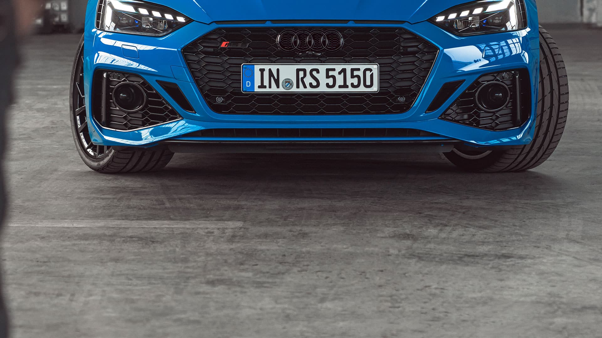Vista frontal del Audi RS 5 Coupé